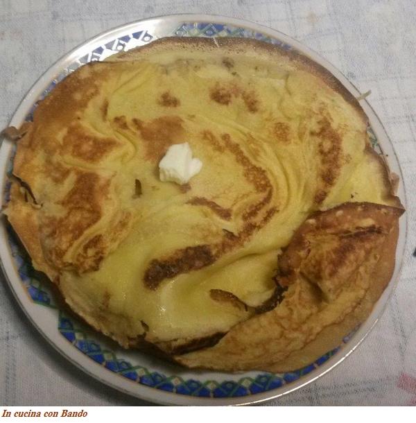 crèpes (ricetta base per crèpes dolci)