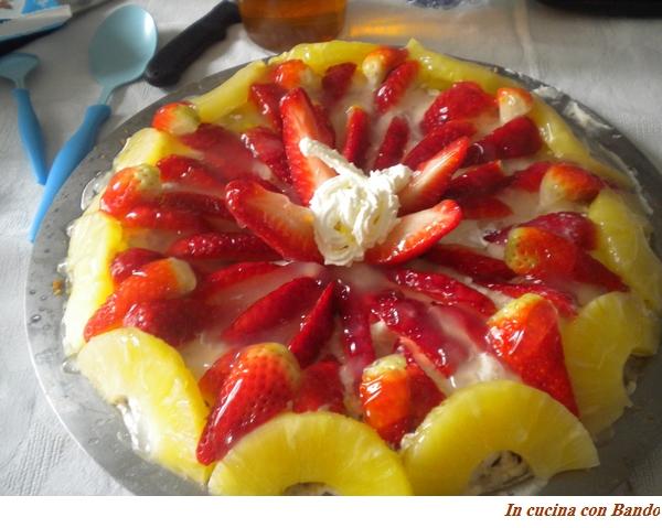 cheese cake alla frutta