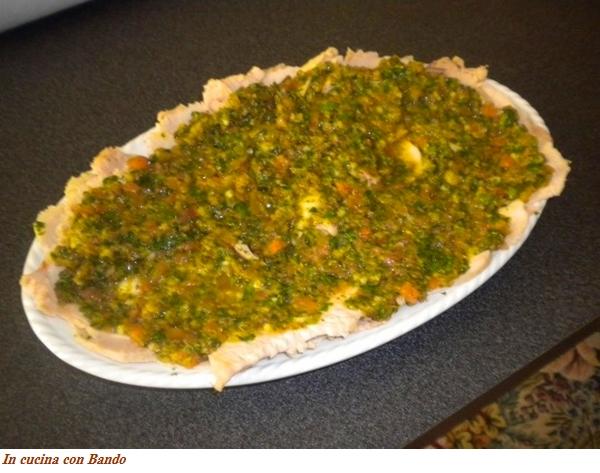lonza fredda con salsa verde