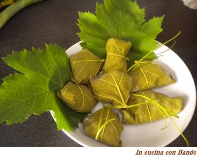 pacchettini di foglie di vite1
