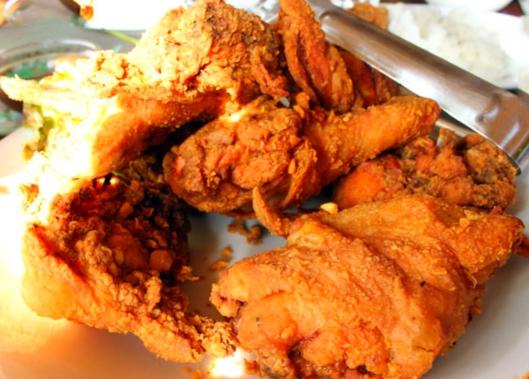 pollo croccante fritto