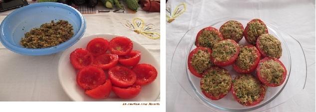 Pomodori ripieni ai cereali