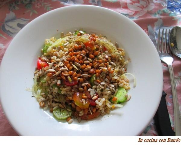 insalata mista con farro