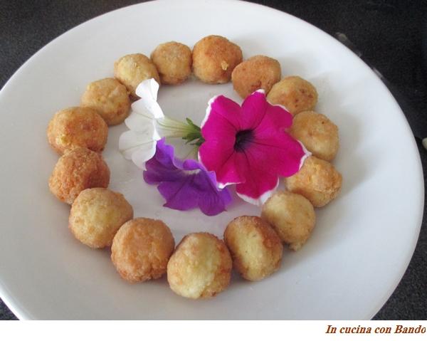 mini polpettine pollo e formaggio