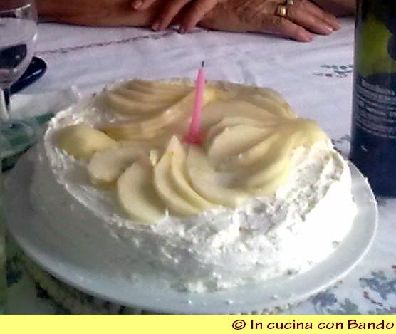 torta di salvatore pere e ricotta