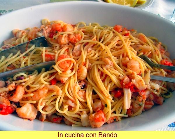 spaghetti al ragù di pesce