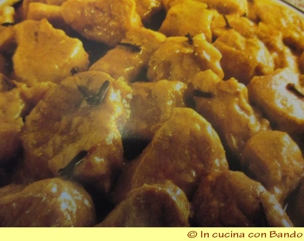 vitello al curry